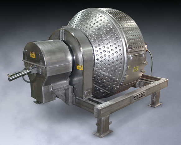 Jacketed, Sanitary Rotary Batch Mixer Maintains Batch Temperatures