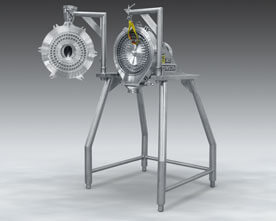Pharma Grade Pin Mill Reduces Friable
