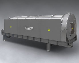 Rotary Continuous Mixer for Bulk Material
